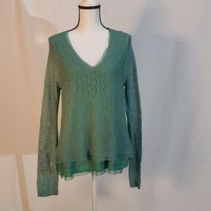 Knitted & Knotted/ Anthropologie Sweater